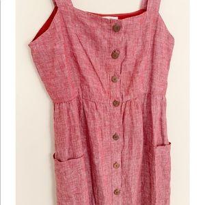 Rachel Zoe Dresses - Red Rachel Zoe Linen Dress